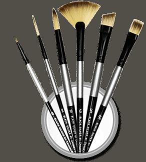 Black-Silver-circle-icon