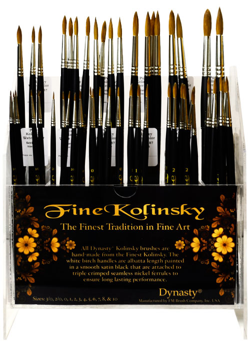 Fine Kolinsky Assortment