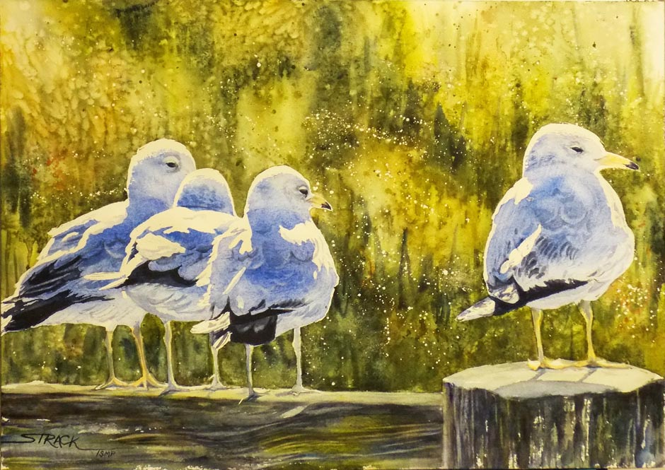 """""""The-Gossipers"""" by Annie-Strack"""