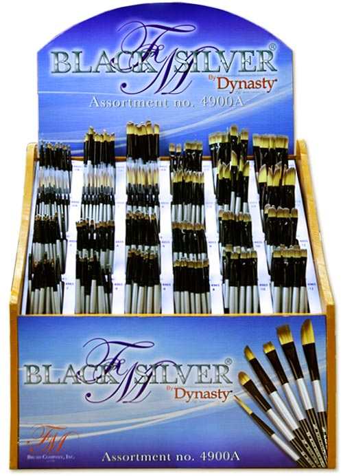 Black Silver Assortment 4900A