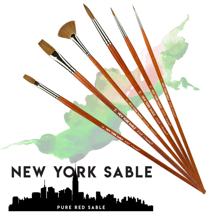 New York Sable by Dynasty Brush